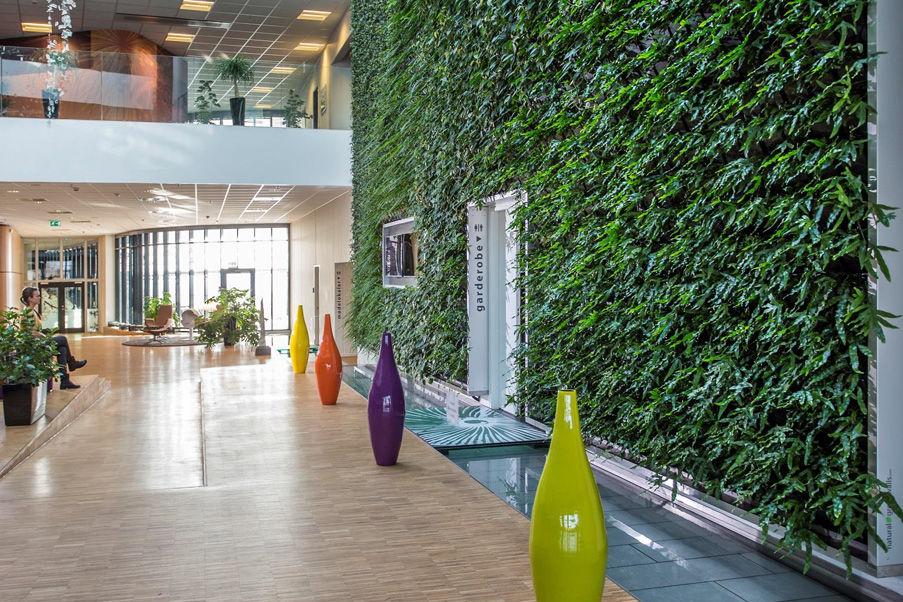 Växtvägg från Natural Greenwalls
