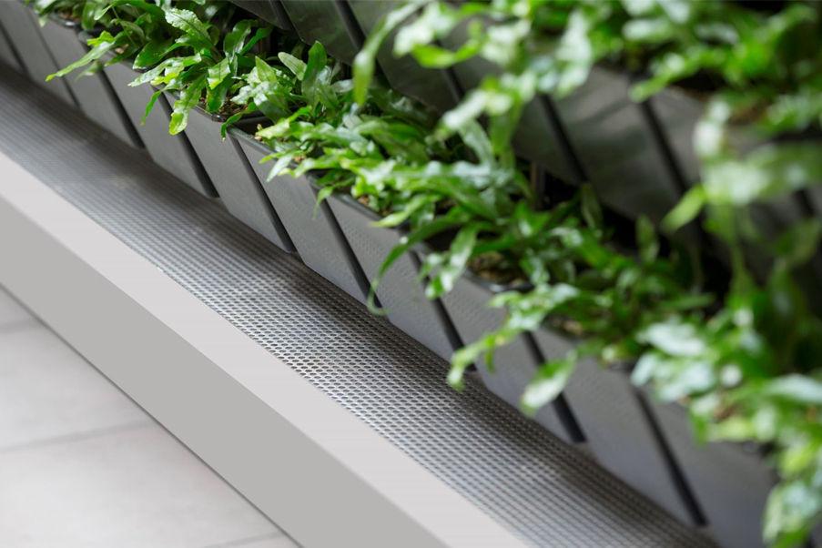 En bra lösning för växtvägg